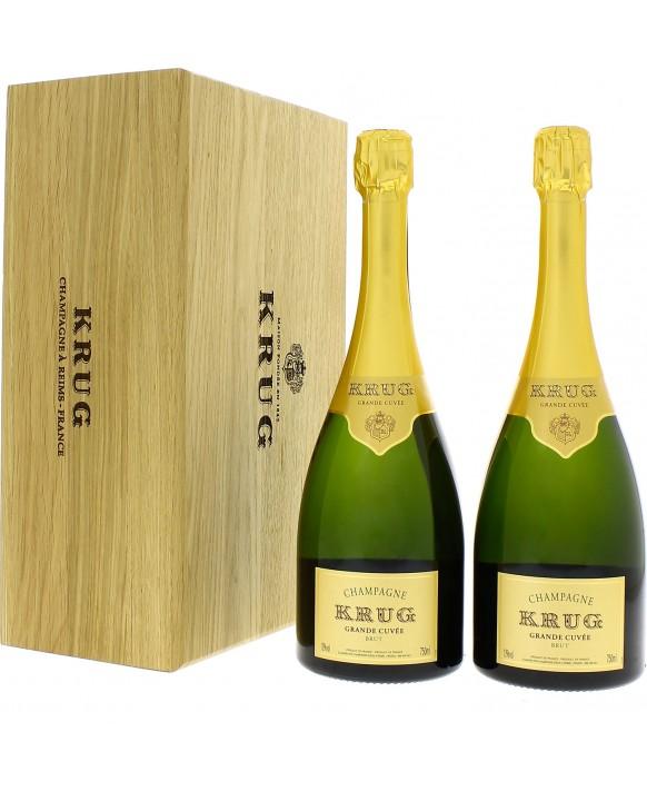 Champagne Krug Coffret de deux Grande Cuvée 75cl