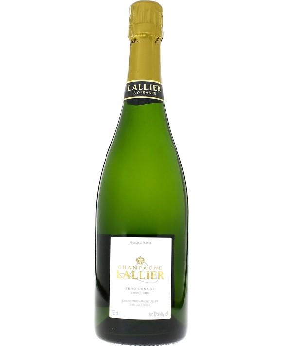 Champagne Lallier Zéro Dosage Grand Cru 75cl