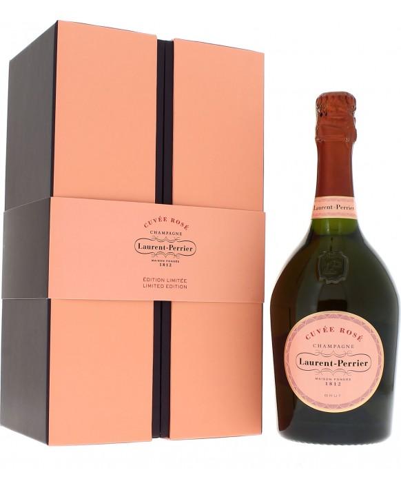 Champagne Laurent-perrier Cuvée Rosé casket Grand luxe