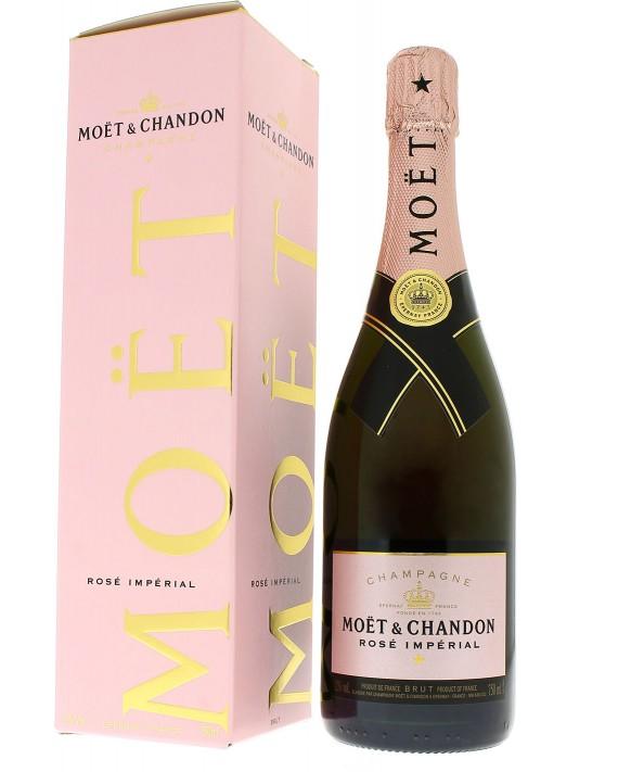 Champagne Moet Et Chandon Rosé Impérial gift box
