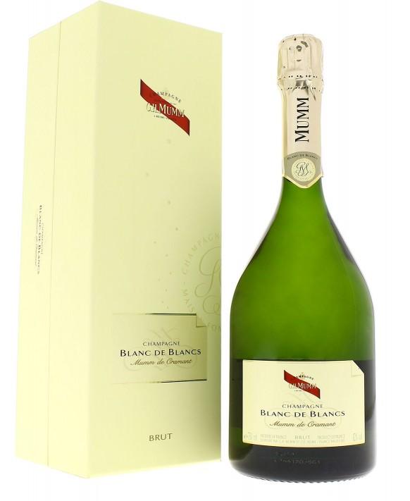 Champagne Mumm Blanc de Blancs coffret