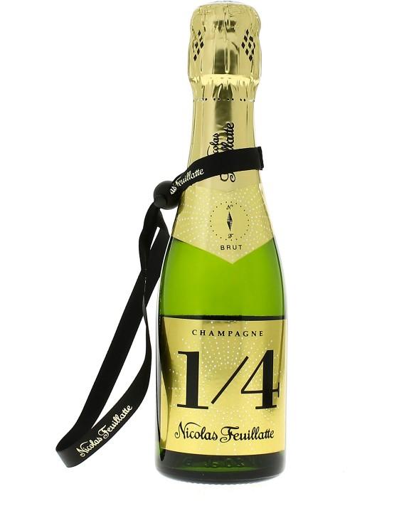 Champagne Nicolas Feuillatte Quarter one four Brut