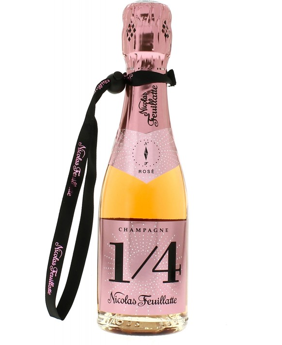 Champagne Nicolas Feuillatte Quart one four Rosé