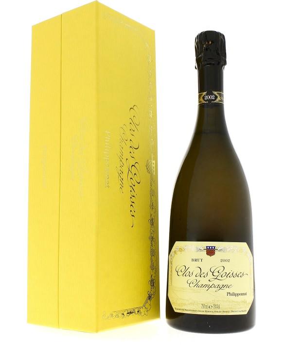 Champagne Philipponnat Clos des Goisses 2002 coffret