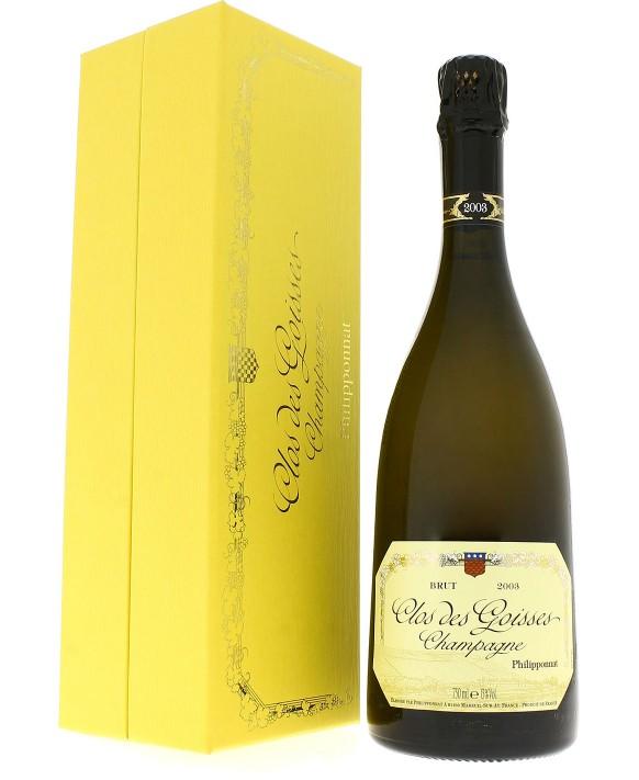Champagne Philipponnat Clos des Goisses 2003 coffret