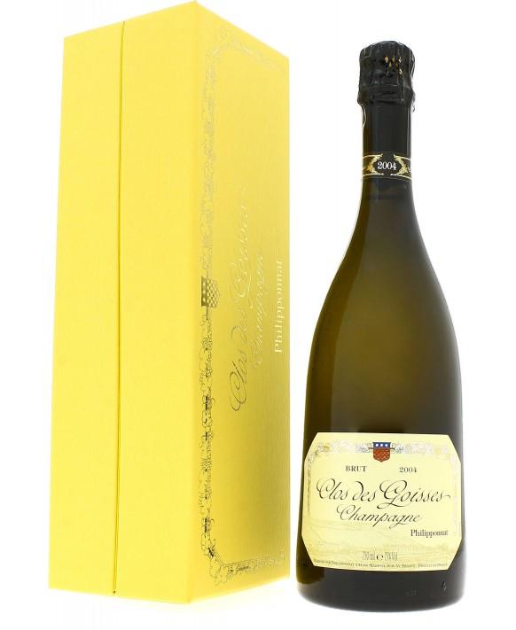 Champagne Philipponnat Clos des Goisses 2004 coffret