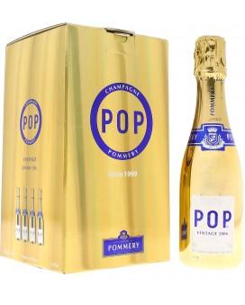 Champagne Pommery Pack four quarter Pop Gold