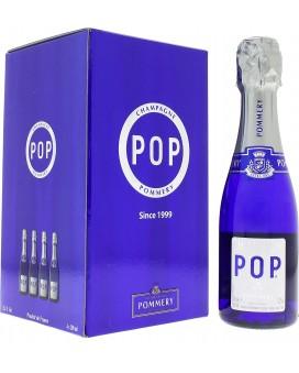 Champagne Pommery Pack four Pop quarter