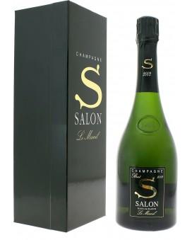 Champagne Salon S 2002 casket