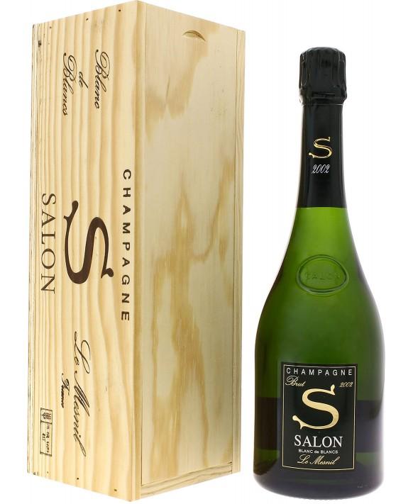 Champagne Salon S 2002 wooden case