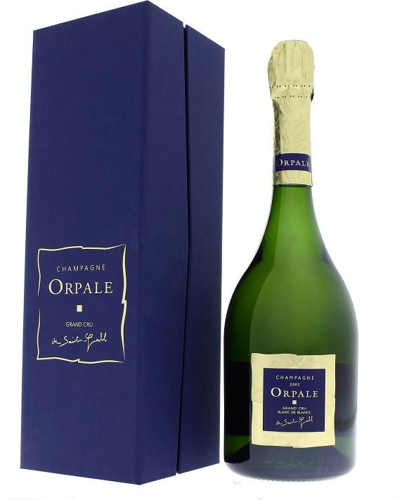Champagne De Saint Gall Orpale Blanc de Blancs 2002 Grand Cru casket