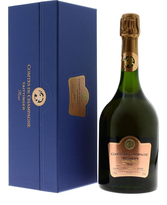 Champagne Taittinger Comtes de Champagne Rosé 1999