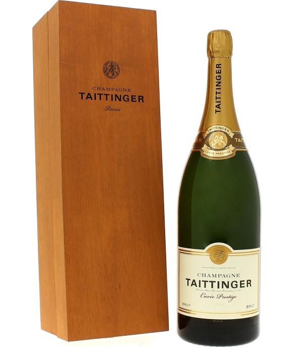 Champagne Taittinger Brut Réserve coffret luxe Jéroboam 300cl