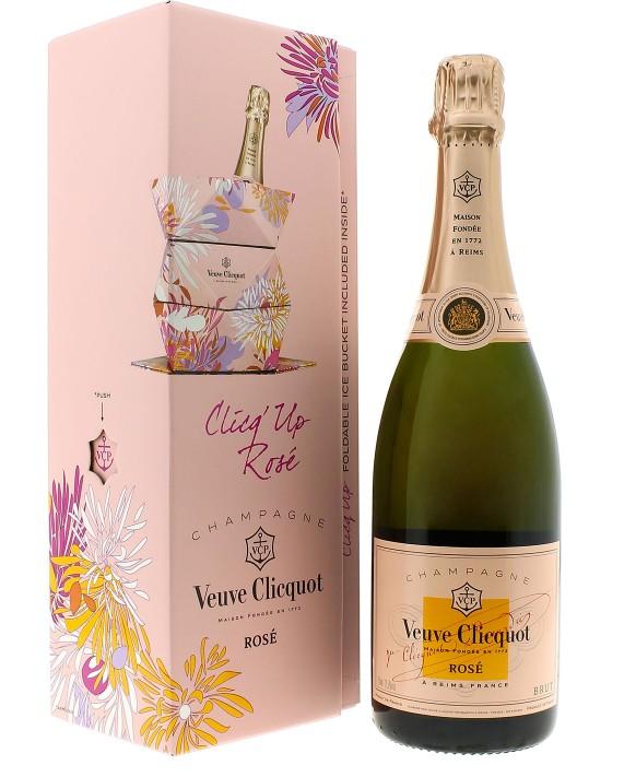 Champagne Veuve Clicquot Rosé Clicq'up 75cl