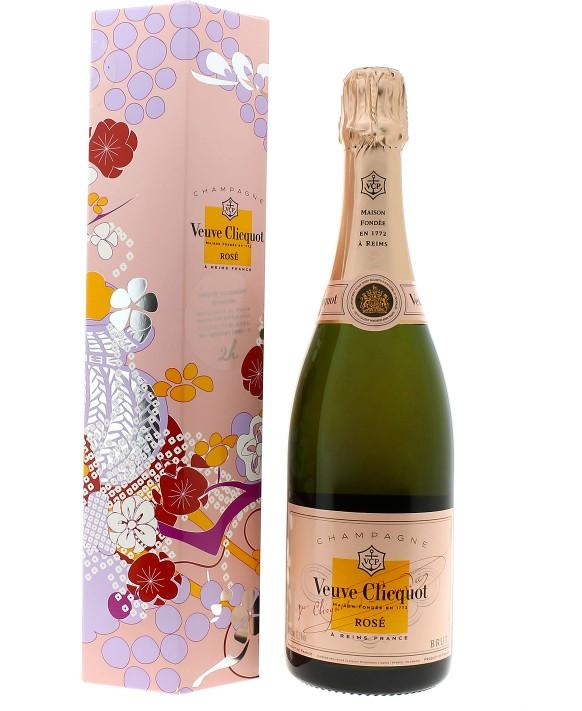Champagne Veuve Clicquot Rosé coffret Shakkei
