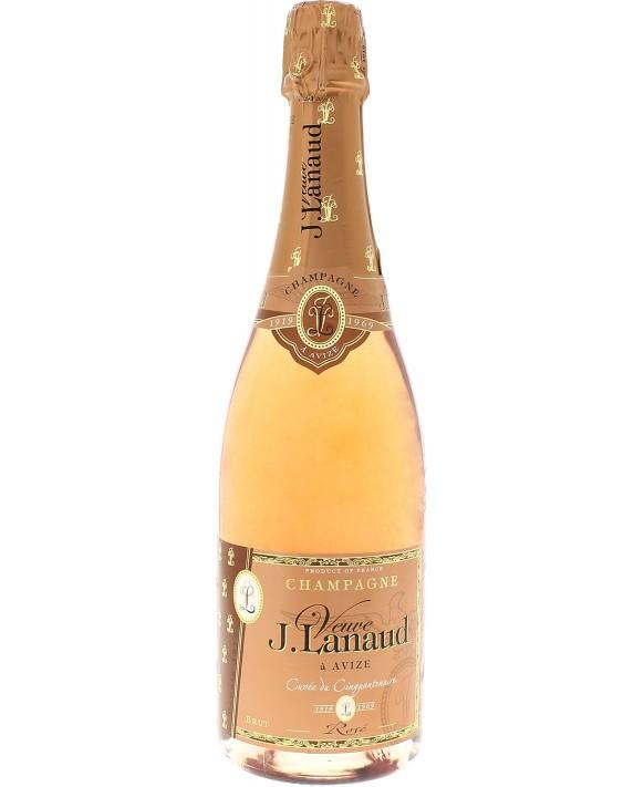 Champagne Veuve Lanaud Cuvée du Cinquantenaire Rosé