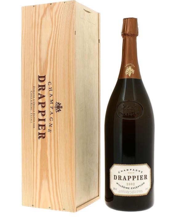 Champagne Drappier Millésime d'Exception 2002 Jéroboam
