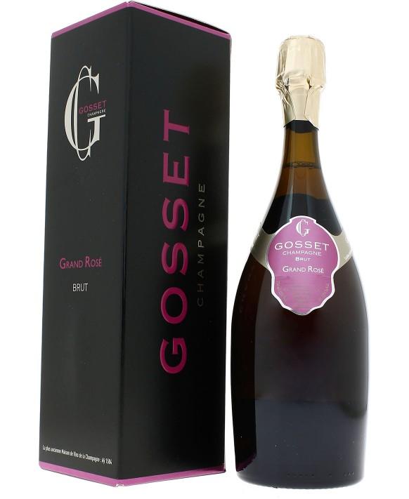 Champagne Gosset Grand Rosé Brut gift casket