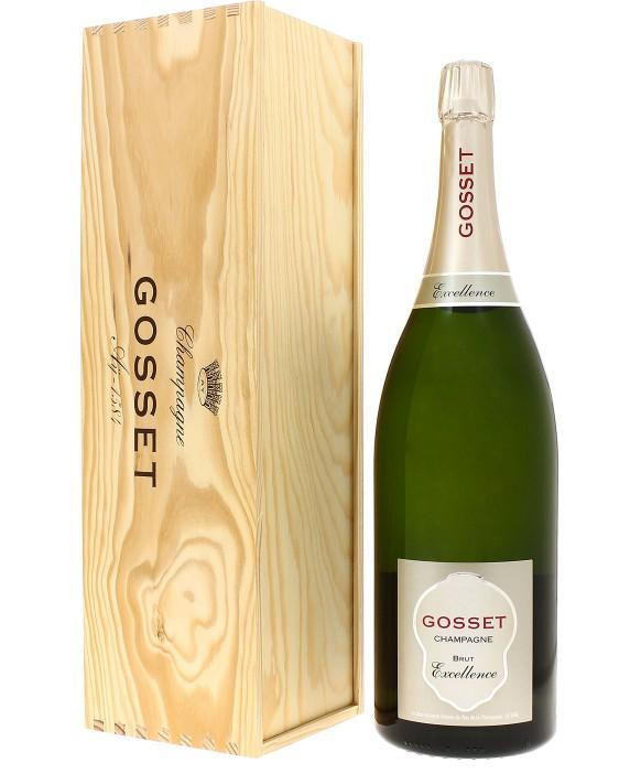 Champagne Gosset Brut Excellence Jéroboam 300cl