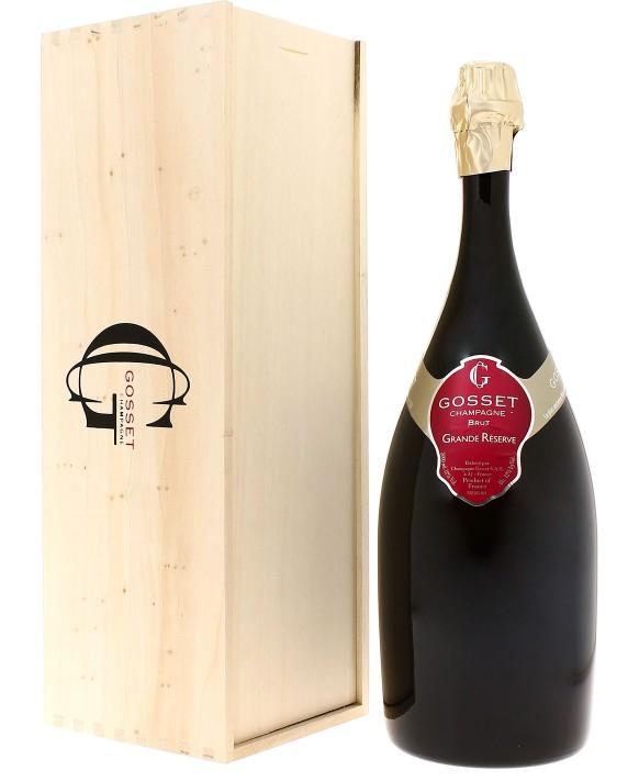 Champagne Gosset Grande Réserve Brut Jéroboam