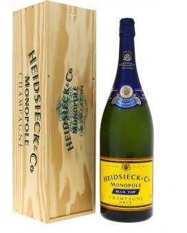 Champagne Heidsieck Blue top Mathusalem