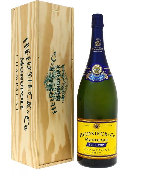 Champagne Heidsieck Blue top Salmanazar