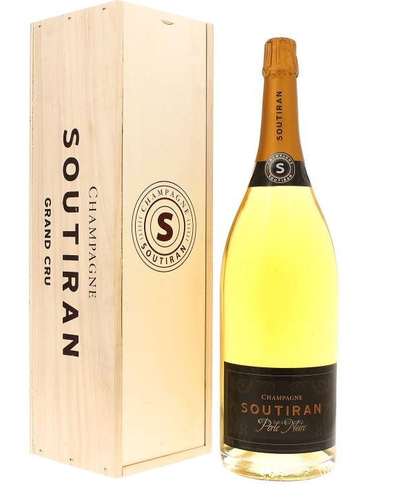 Champagne Soutiran Blanc de Noirs Grand Cru Perle Noire Jéroboam