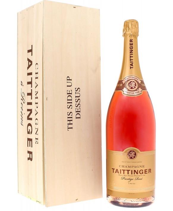 Champagne Taittinger Brut Prestige Rosé Jéroboam