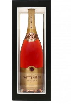 Champagne Taittinger Brut Prestige Rosé coffret Prestige Jéroboam