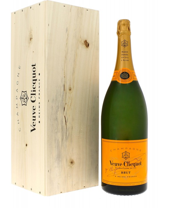 Champagne Veuve Clicquot Carte Jaune Jéroboam