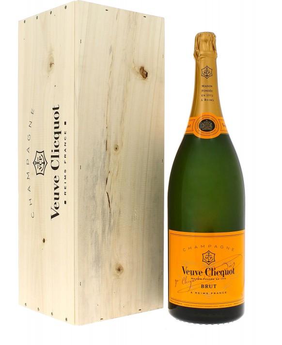 Champagne Veuve Clicquot Carte Jaune Salmanazar