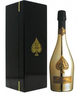 Champagne Armand De Brignac Brut Gold in casket