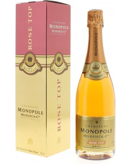 Champagne Heidsieck Rosé top