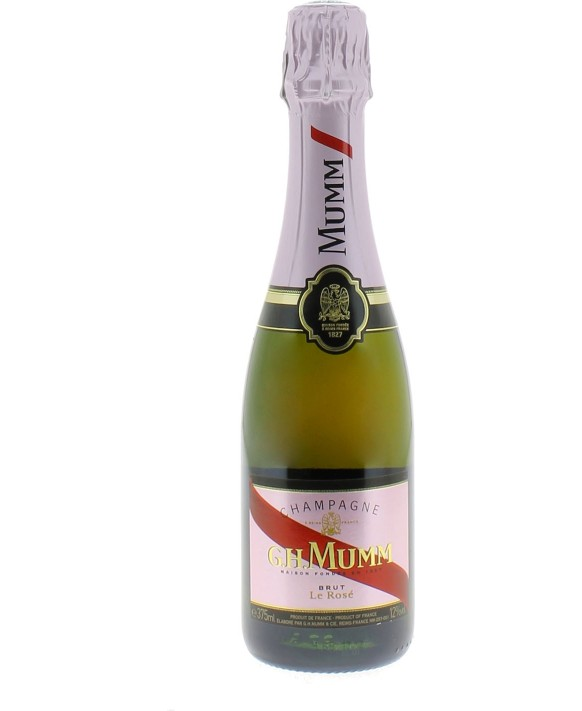Champagne Mumm Rosé half bottle