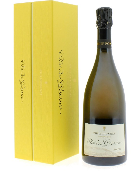 Champagne Philipponnat Clos des Goisses 2005 coffret