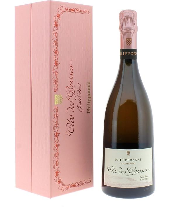 Champagne Philipponnat Clos des Goisses Rosé 2005