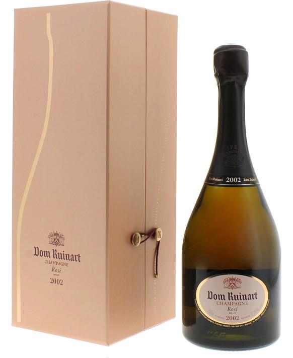 Champagne Ruinart Dom Ruinart Rosé 2002 coffret