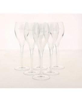Champagne Pommery Six flûtes