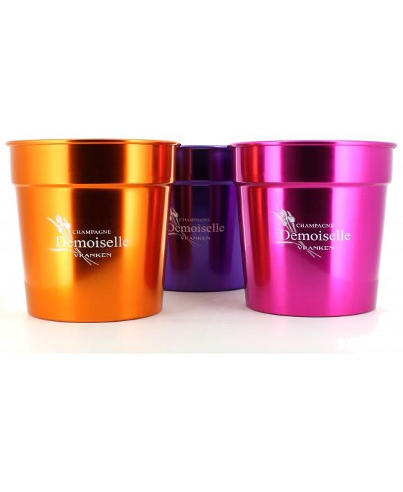 Champagne Demoiselle Coloured aluminium bucket