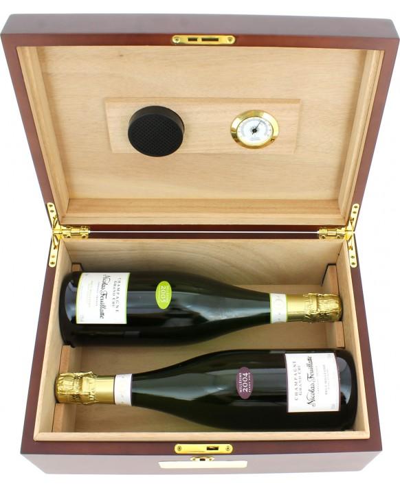 Champagne Nicolas Feuillatte Grands Crus cigar box 75cl