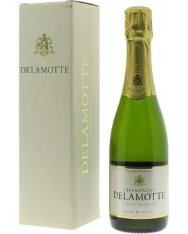 Champagne Delamotte Blanc de Blancs coffret Demi