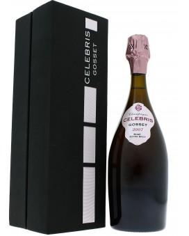 Champagne Gosset Célébris Rosé 2007 Extra-Brut