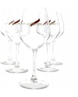 Champagne Mumm Six flûtes à degustation