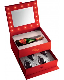 Champagne Tsarine Coffret make-up artist : 1 Cuvée Premium + 4 flûtes