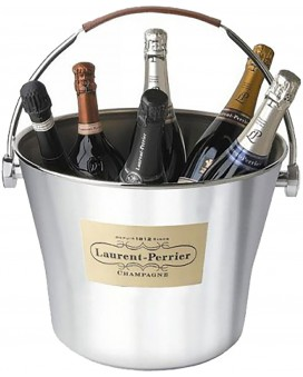 Champagne Laurent-perrier Large stainless steel bucket