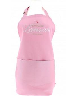 Champagne Lanson Pink apron