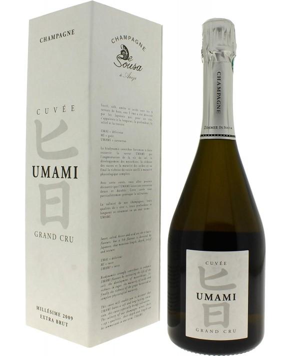 Champagne De Sousa Cuvée Umami Extra-Brut 2009 75cl