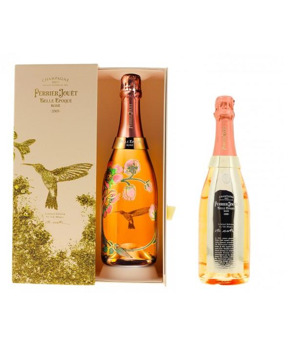 Champagne Perrier Jouet Belle Epoque Rosé 2005 Edition Limitée by Vic Muniz 75cl