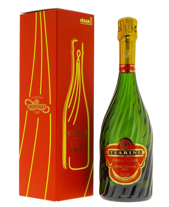 Champagne Tsarine Cuvée Premium neon box