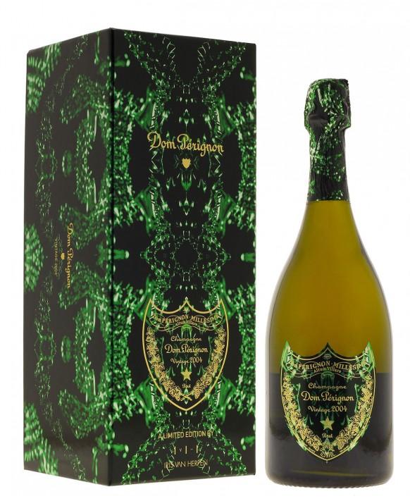 Champagne Dom Perignon Vintage 2004 Iris Van Herpen gift box